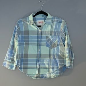Mossimo cropped flannel